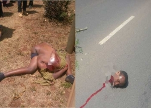 Horror! Man's Head Chopped Off in Horrific Road Accident